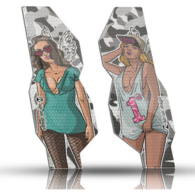 Riesel Design fork Ochronna Tape 3000, szary